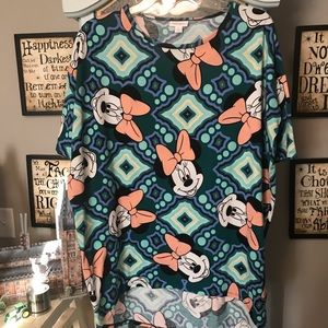 Disney Patterned LulaRoe Irma